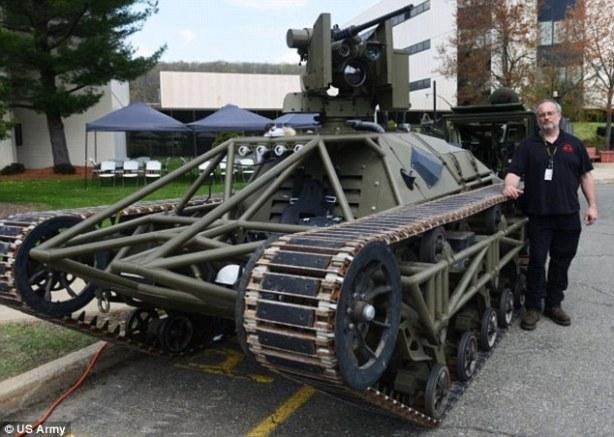 Army Drone Tank